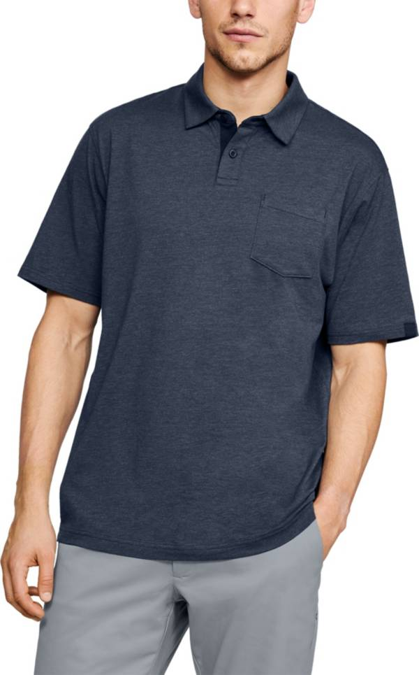 Under Armour Men's Charged Cotton Scramble Golf Polo Shirt product image