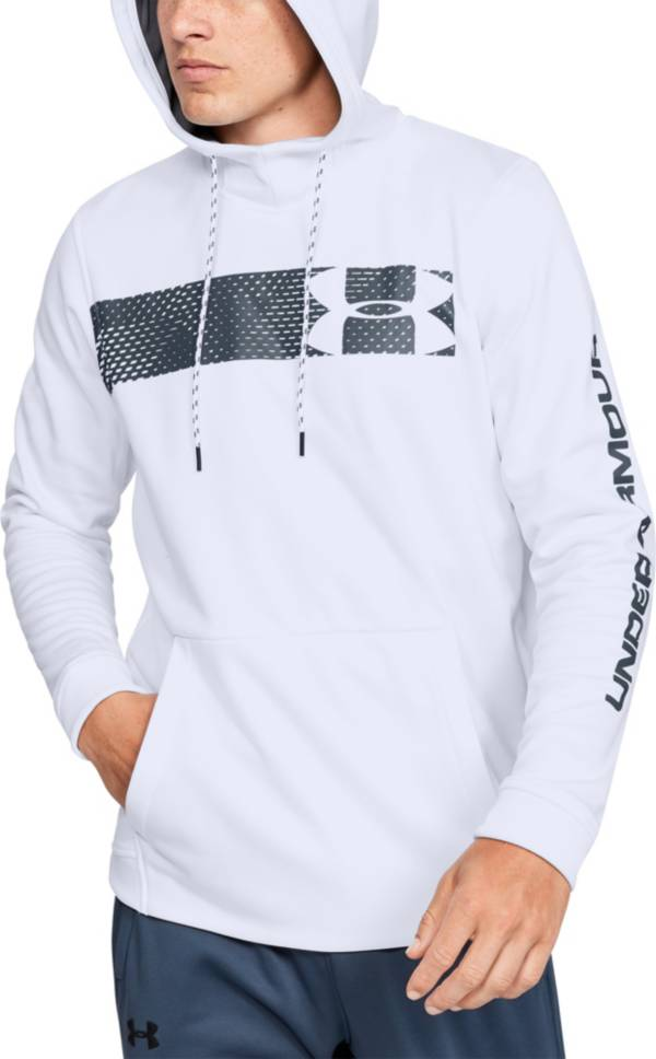 Under Armour Men's Armour Fleece Bar Logo Hoodie (Regular and Big & Tall) product image