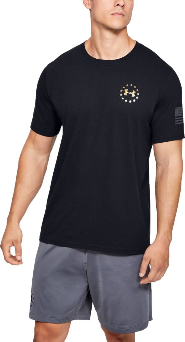 Under Armor Men's Freedom Flag Evade Short Sleeve T-Shirt (Regular and Big & Tall) product image
