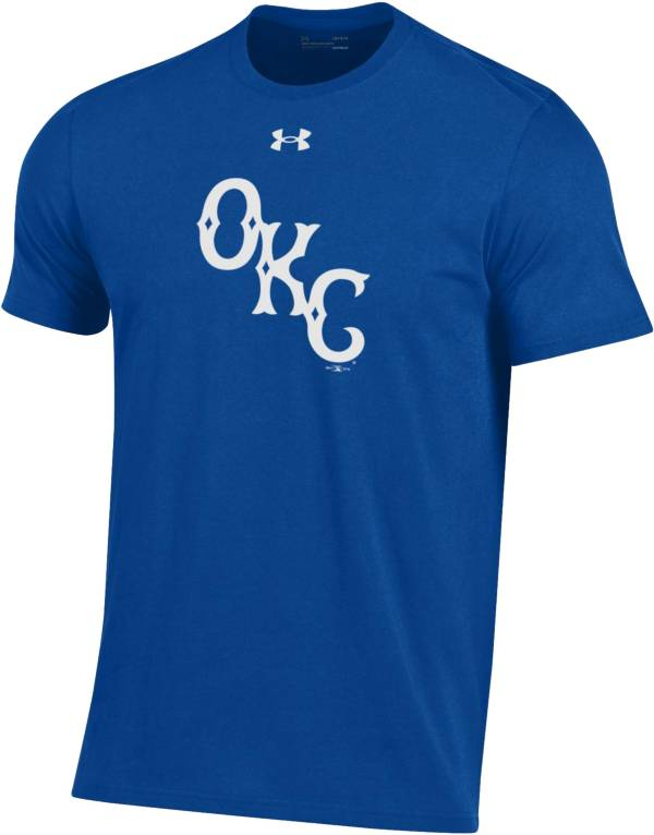 Under Armour Men's Oklahoma City Dodgers Royal Performance T-Shirt product image