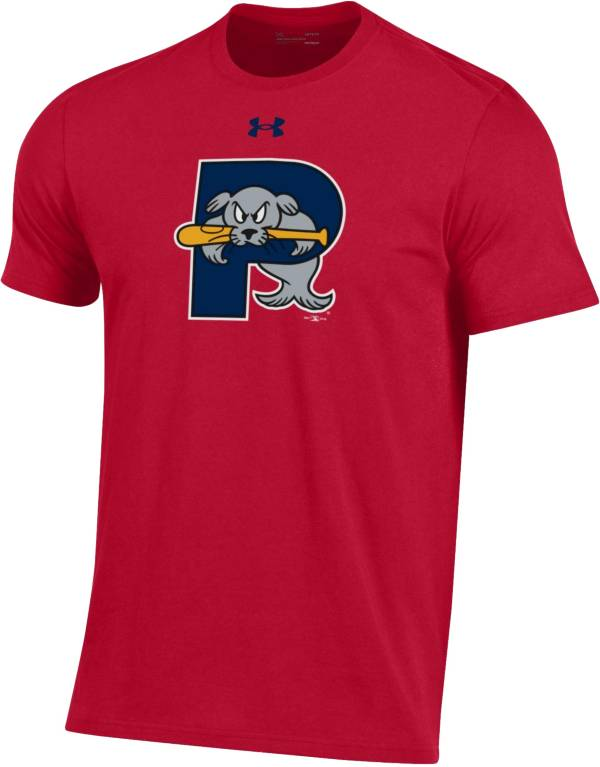 Under Armour Men's Portland Sea Dogs Red Performance T-Shirt product image