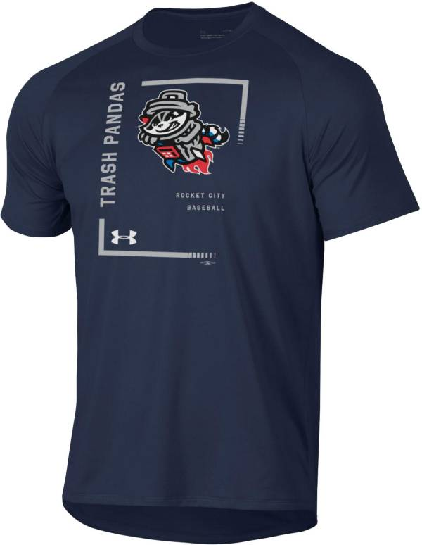 Under Armour Men's Rocket City Trash Pandas Navy Tech Performance T-Shirt product image