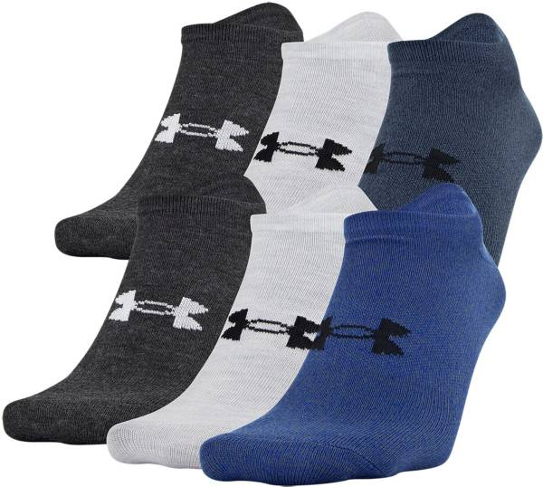 Under Armour Men's Essential Lite No Show Socks - 6 Pack product image