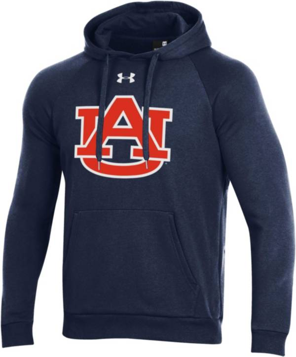Under Armour Men's Auburn Tigers Blue All Day Hoodie product image
