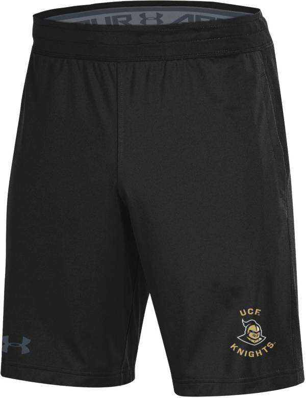 Under Armour Men's UCF Knights Raid Performance Black Shorts product image