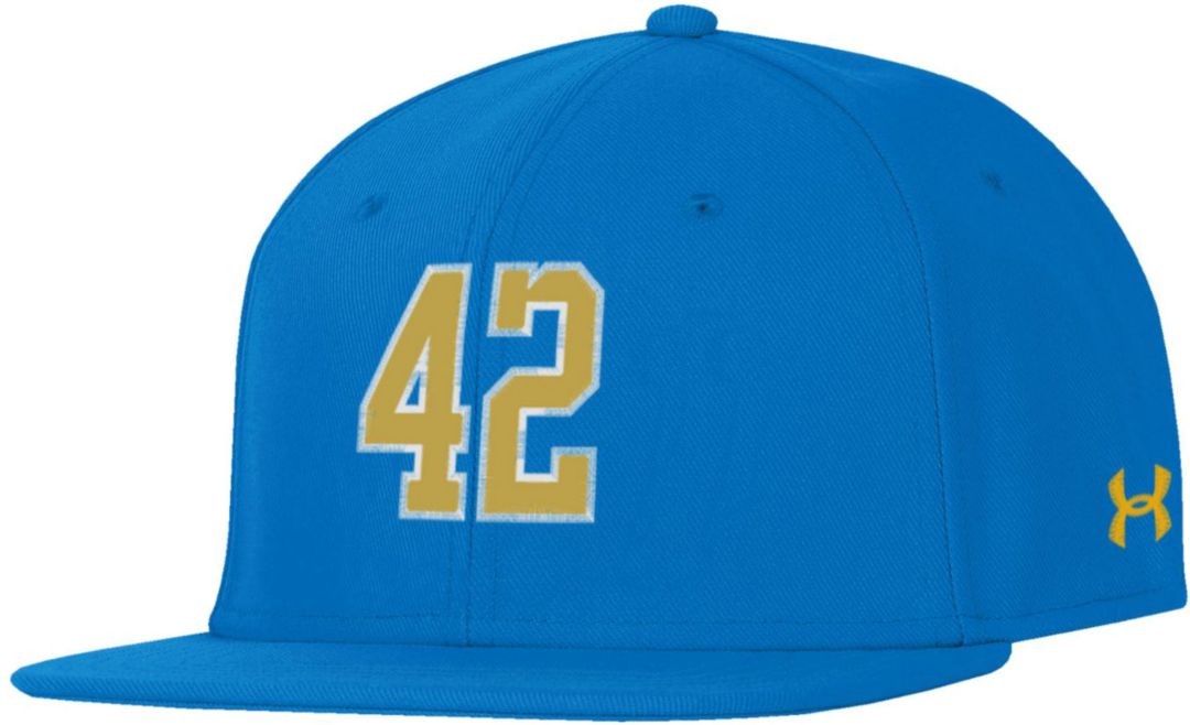 check out a405a 936e8 Under Armour Men s UCLA Bruins True Blue  Jackie Robinson  Fitted Hat