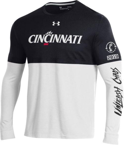 001e8779e957 Under Armour Men s Cincinnati Bearcats Black White  Unleash Chaos ...