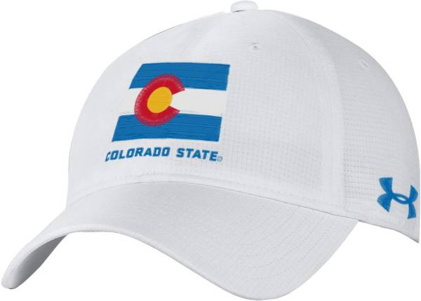 Under Armour Men's Colorado State Rams Adjustable White Hat product image