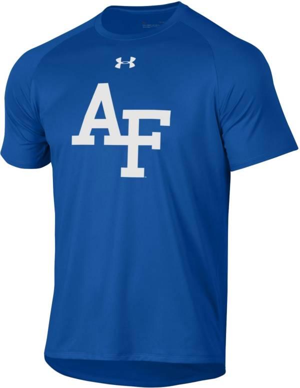 Under Armour Men's Air Force Falcons Blue Tech Performance T-Shirt product image