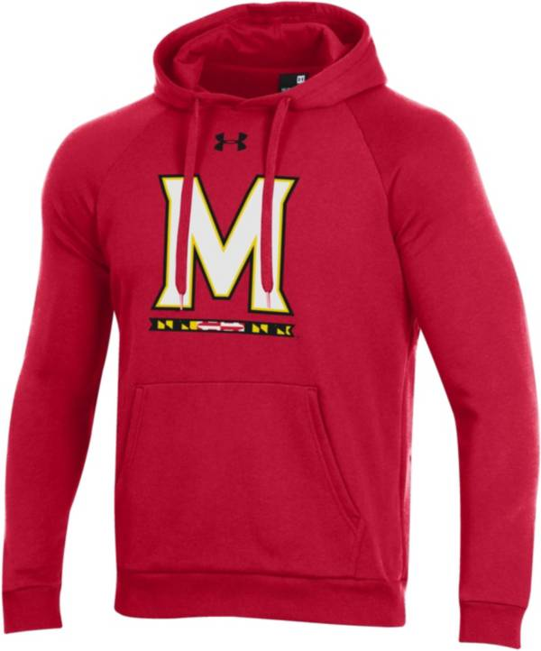 Under Armour Men's Maryland Terrapins Red All Day Hoodie product image