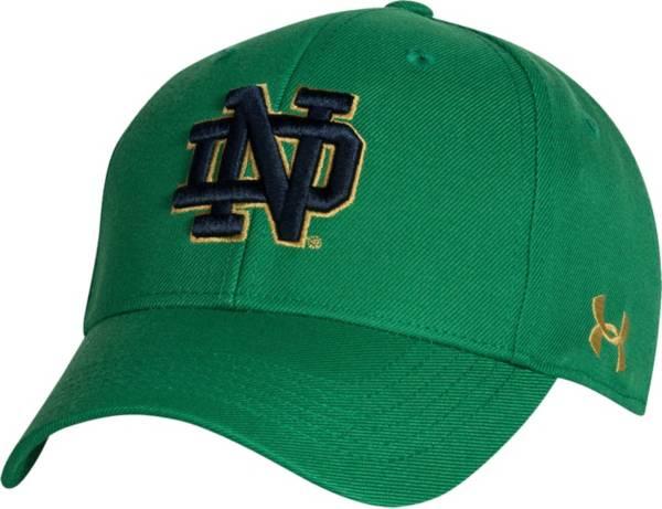 Under Armour Men's Notre Dame Fighting Irish Green Adjustable Hat product image