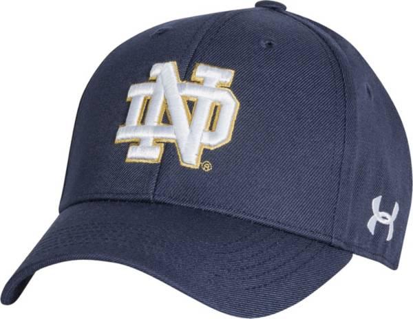 Under Armour Men's Notre Dame Fighting Irish Navy Adjustable Hat product image