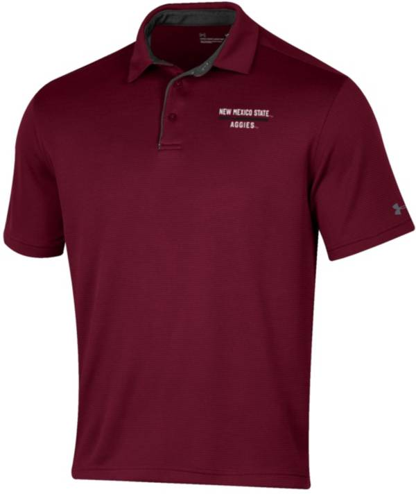 Under Armour Men's New Mexico State Aggies Crimson Tech Polo product image