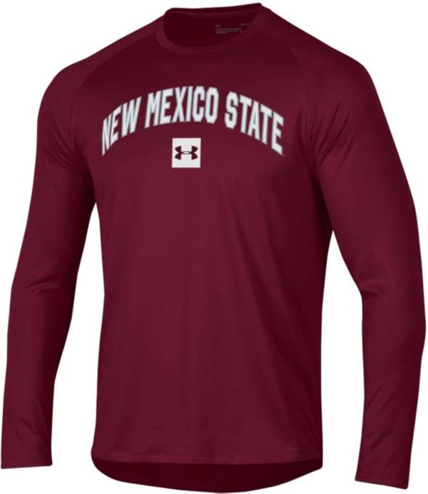 Under Armour Men's New Mexico Lobos Cherry Long Sleeve Tech Performance T-Shirt product image