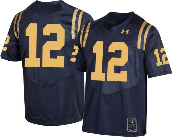 Under Armour Men's Navy Midshipmen #12 Navy 'CFB150' Replica Football Jersey product image