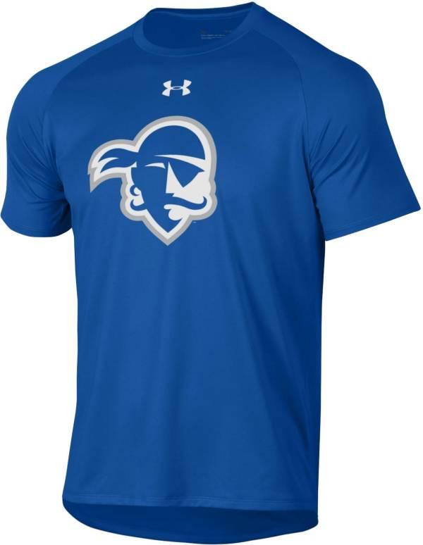 Under Armour Men's Seton Hall Seton Hall Pirates Blue Tech Performance T-Shirt product image