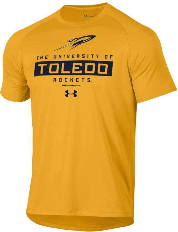 Under Armour Men's Toledo Rockets Gold Tech Performance T-Shirt product image