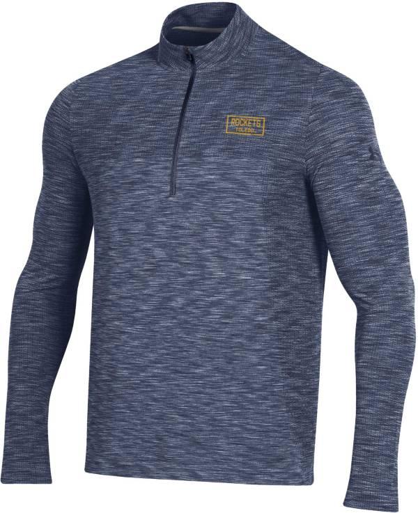 Under Armour Men's Toledo Rockets Midnight Blue Vanish Quarter-Zip Shirt product image