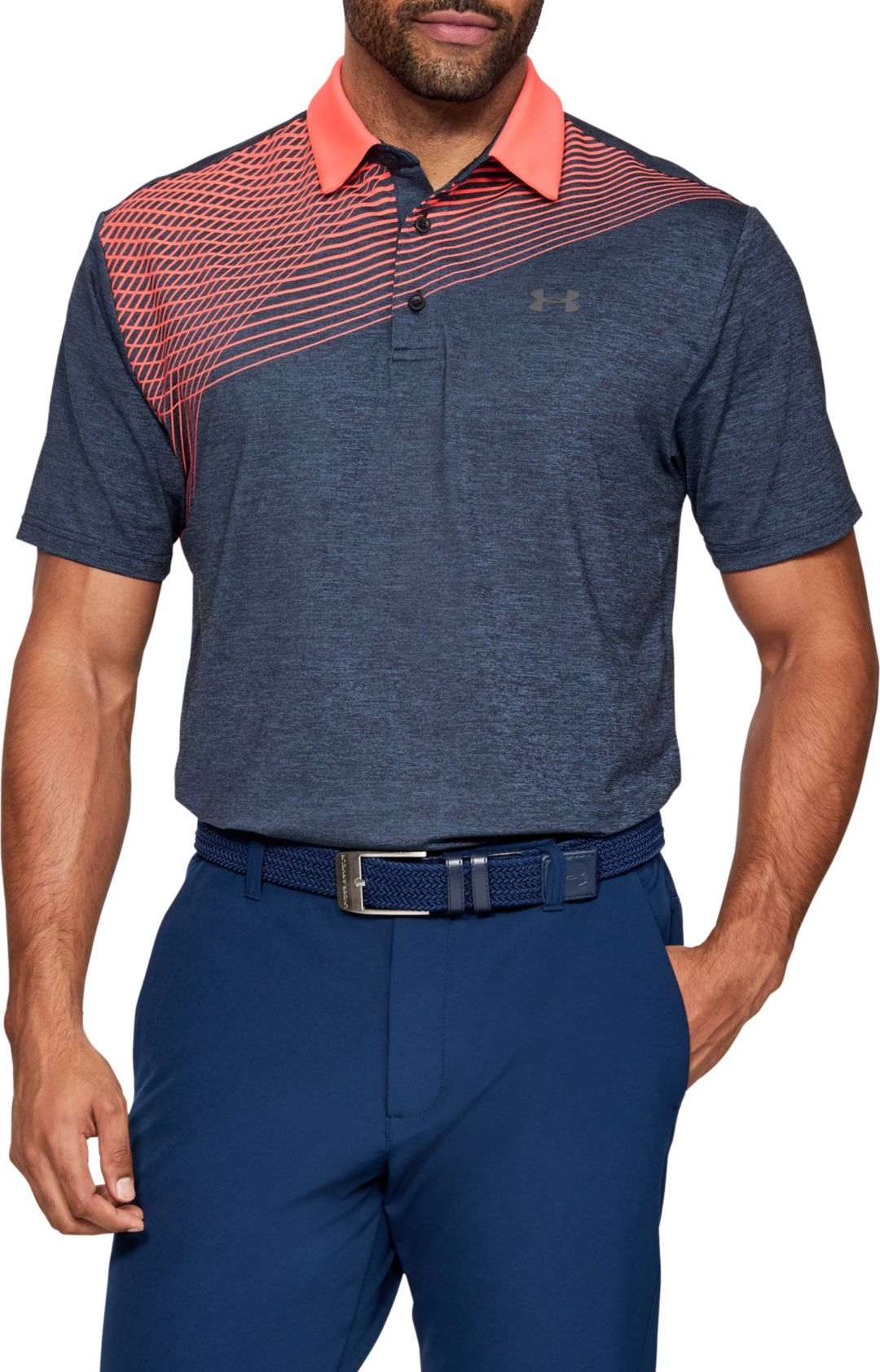 d004cd5d Under Armour Men's Playoff 2.0 Backswing Golf Polo | DICK'S Sporting ...