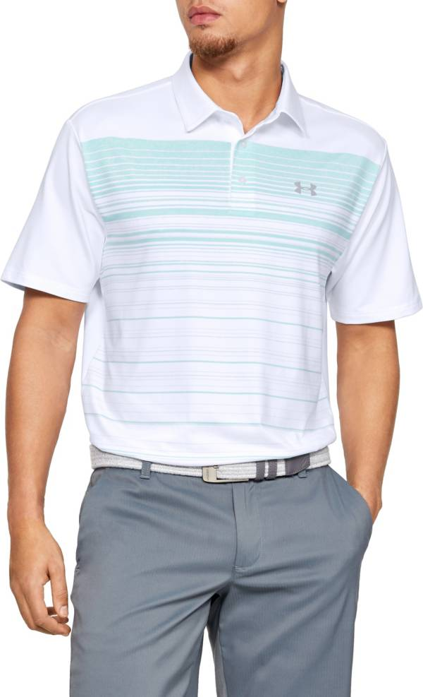 Under Armour Men's Playoff 2.0 Daybreak Stripe Golf Polo product image