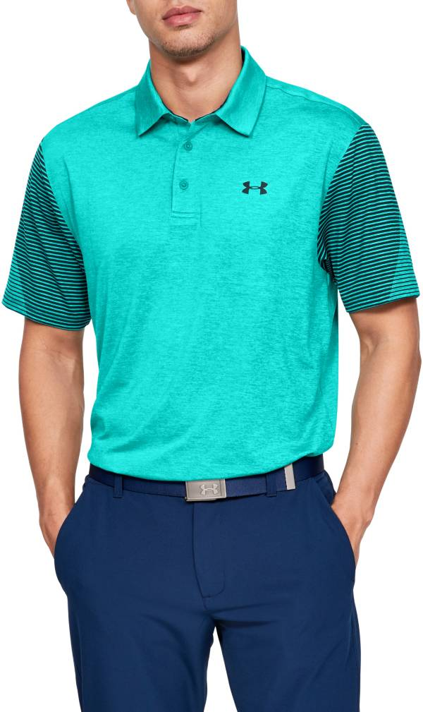 Under Armour Men's Playoff 2.0 Striped Sleeve Golf Polo product image