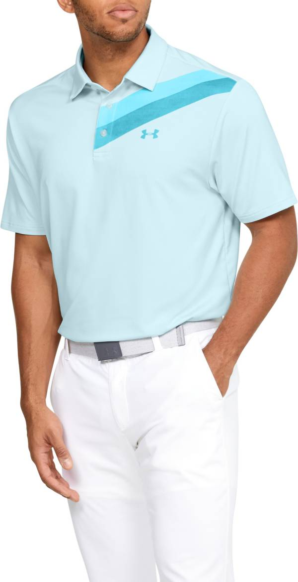 Under Armour Men's Playoff 2.0 Chest Print Golf Polo product image