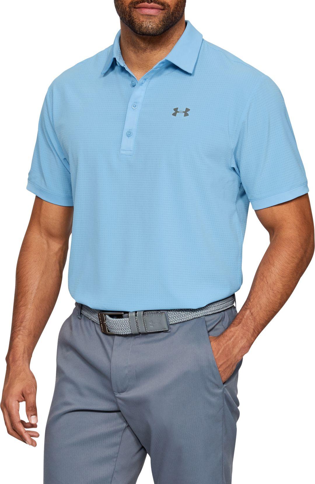 5190c985cff Under Armour Men's Playoff Vented Golf Polo. noImageFound. Previous. 1