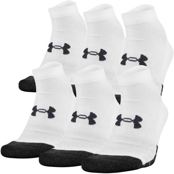 Under Armour Adult Performance Tech Low Cut Socks 6 Pack product image