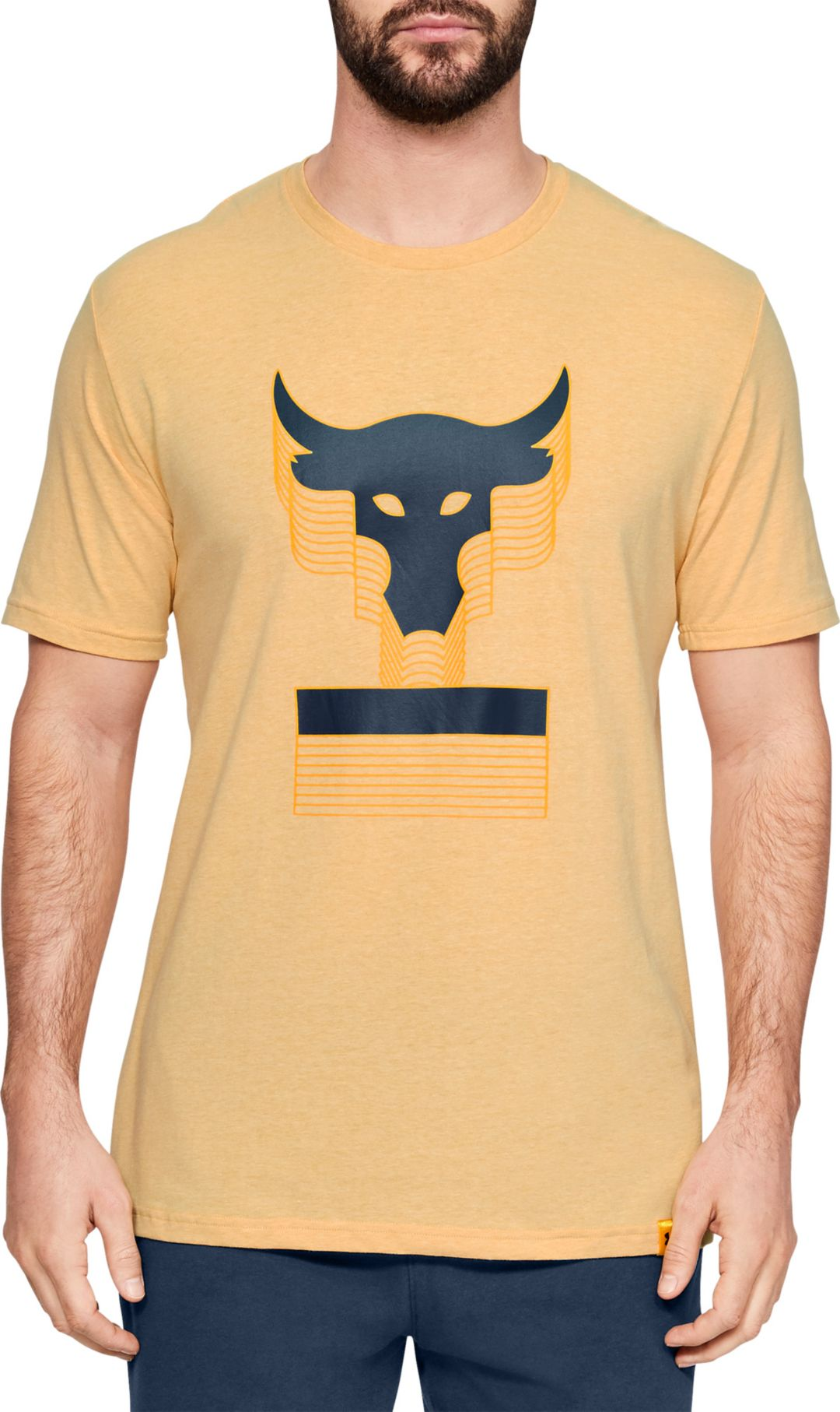 b37180b2 Under Armour Men's Project Rock Above The Bar Graphic T-Shirt.  noImageFound. Previous