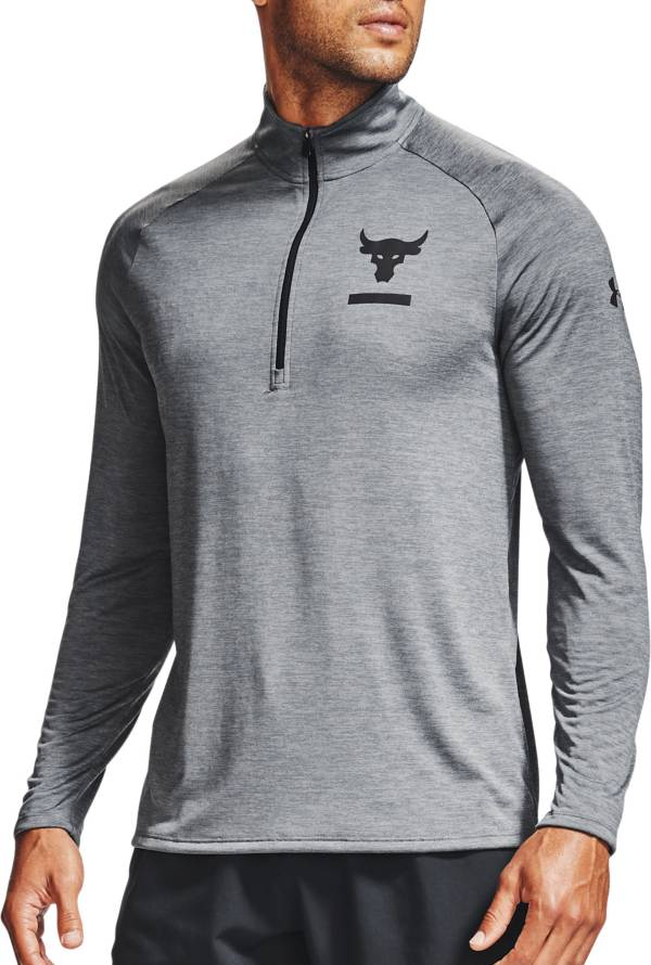 Under Armour Men's Project Rock Tech ½ Zip Long Sleeve Shirt product image
