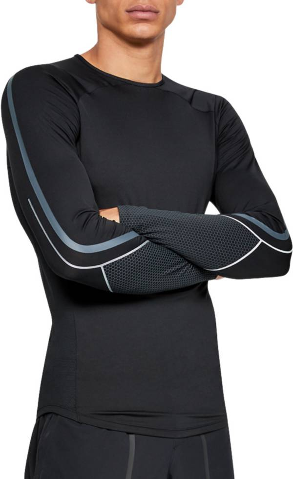 Under Armour Men's RUSH Compression Graphic Long Sleeve Shirt product image