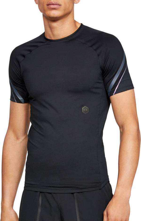 Under Armour Men's RUSH Compression Graphic Short Sleeve Shirt product image