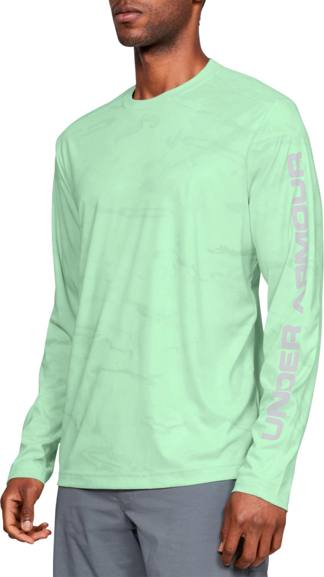 e028561b94 Under Armour Men's Shore Break Camo Fishing Long Sleeve Shirt