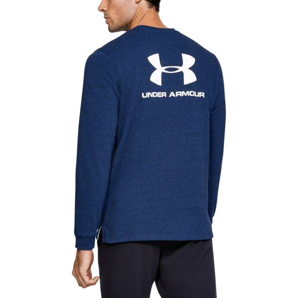 Under Armour Men's Sportstyle Terry Logo Pullover (Regular and Big & Tall) product image