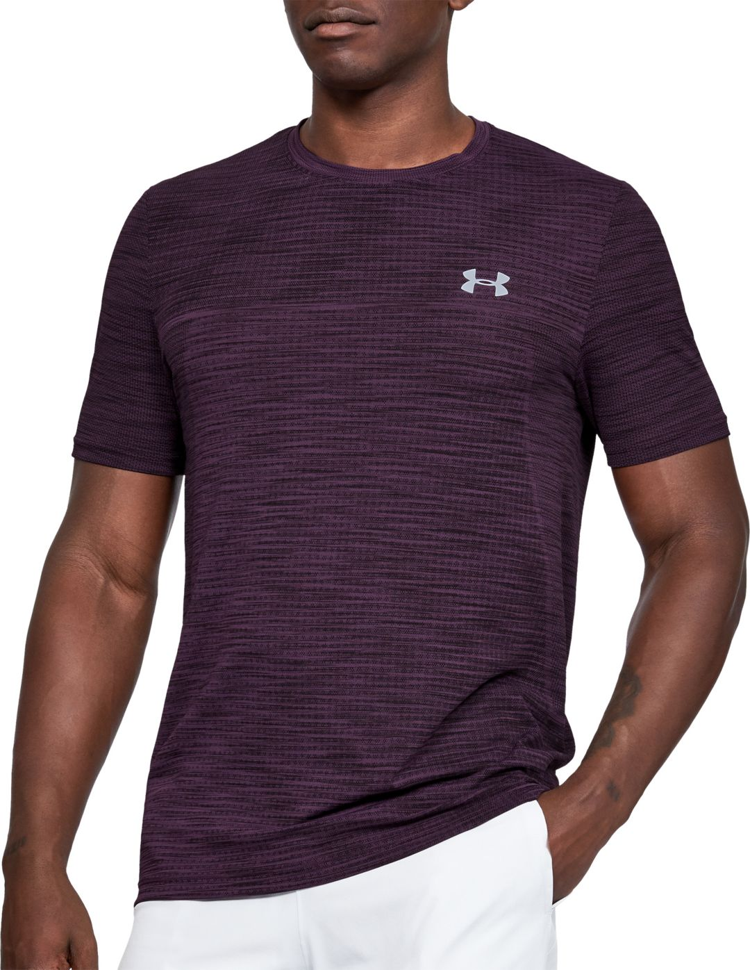 80d624f42 Under Armour Men's Vanish Seamless Novelty T-Shirt. noImageFound. Previous.  1