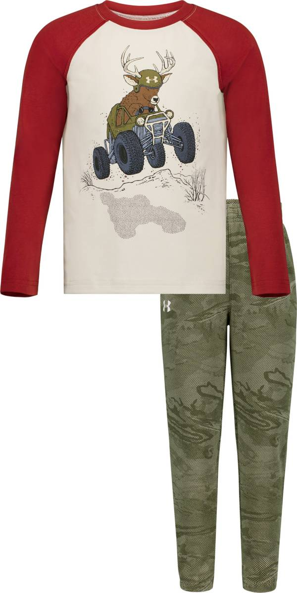 Under Armour Toddler Boys' Deer Buggy T-Shirt and Pants Set product image