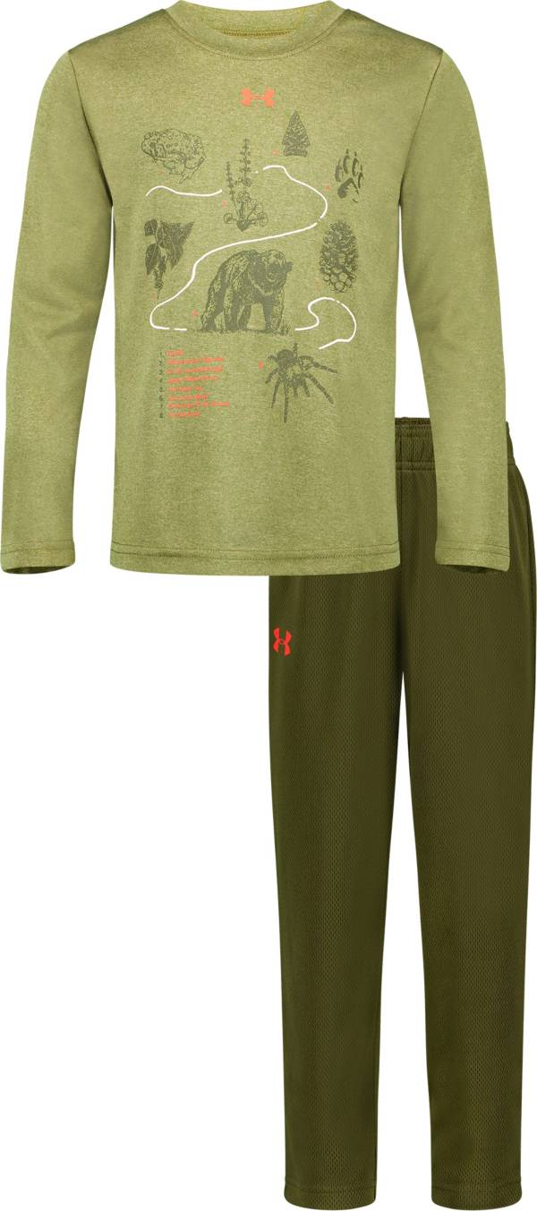 Under Armour Toddler Boys' Trail Map T-Shirt and Pants Set product image