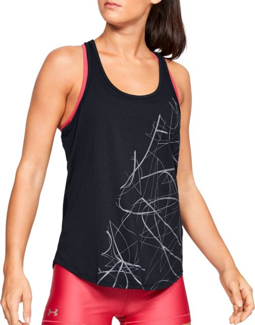 1512915d4a126 Under Armour Women s Abstract Graphic Crossback Tank Top. noImageFound.  Previous