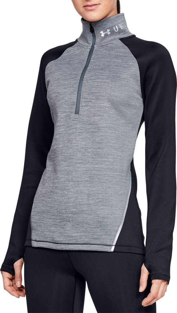 Under Armour Women's ColdGear Armour Heathered Half-Zip Pullover product image