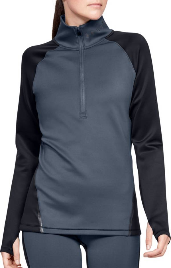 Under Armour Women's ColdGear Armour Color Block Half-Zip Pullover product image