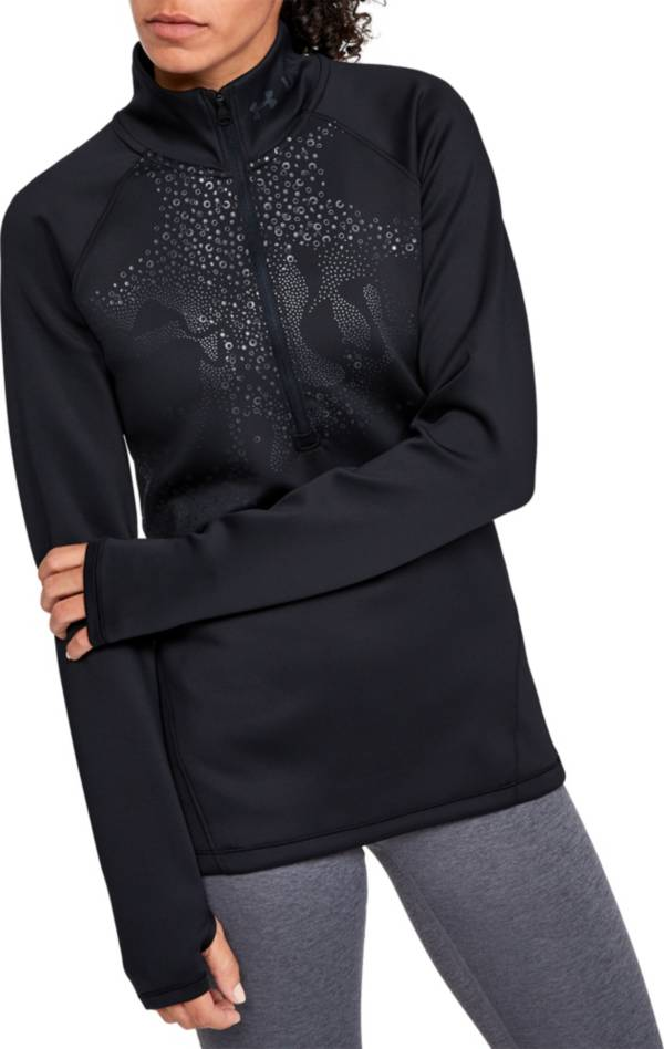 Under Armour Women's ColdGear Armour ½ Zip Graphic Long Sleeve Shirt product image