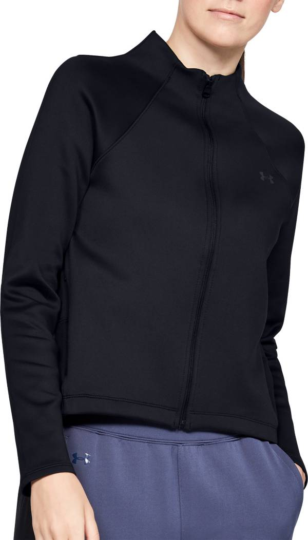Under Armour Women's ColdGear Armour Full-Zip Mock Neck Jacket product image