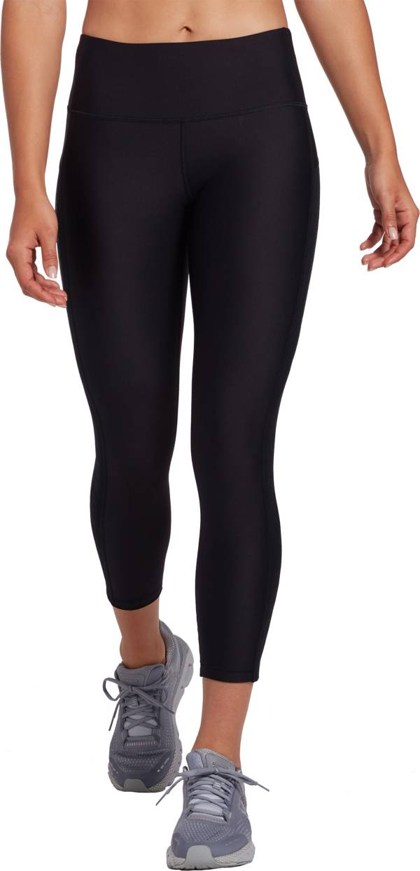 Under Armour Women's HeatGear Armour Ankle Crop Brand Leggings product image