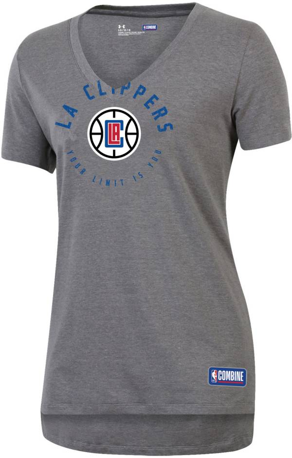 Under Armour Women's Los Angeles Clippers Performance V-Neck T-Shirt product image