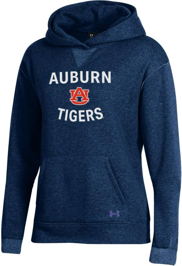 Under Armour Women's Auburn Tigers Blue All Day Hoodie product image