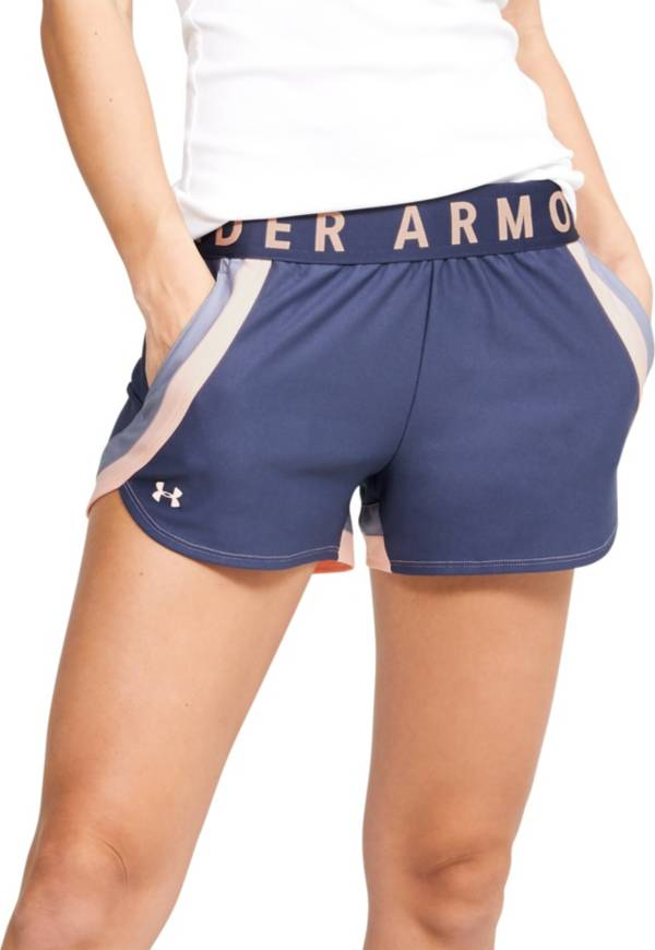 Under Armor Women's Play Up 3.0 Stripe Shorts product image