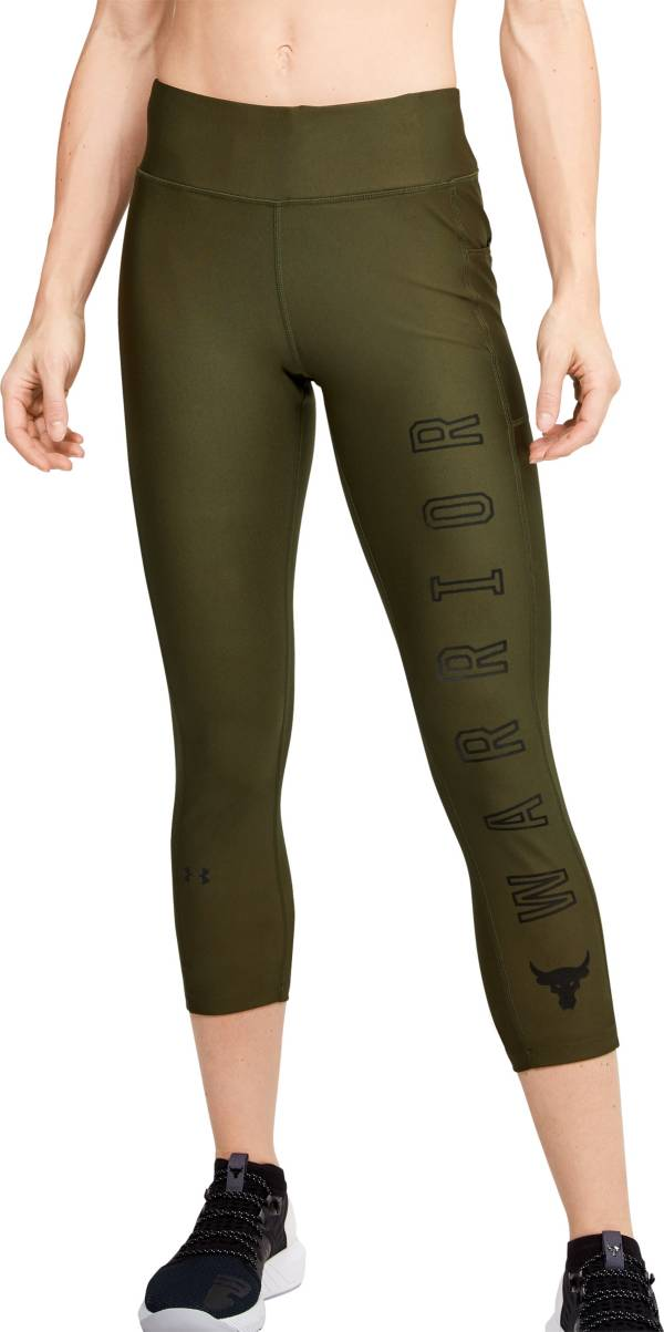 Under Armour Women's Project Rock Warrior Compression Ankle Leggings product image