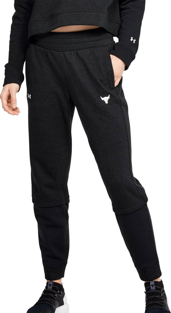 Under Armour Women's Project Rock Terry Fleece Joggers product image
