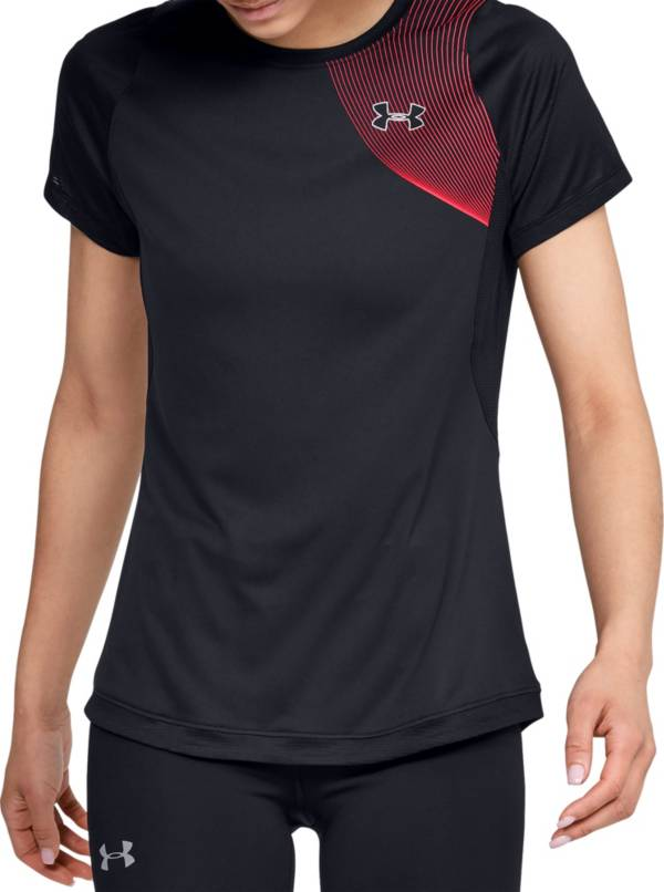 Under Armour Women's Qualifier Iso-Chill Short Sleeve Shirt product image