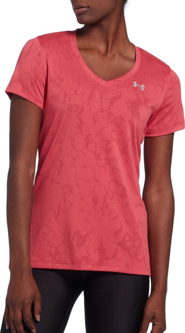 Under Armour Women's Tech Marble Jacquard Print T-Shirt product image